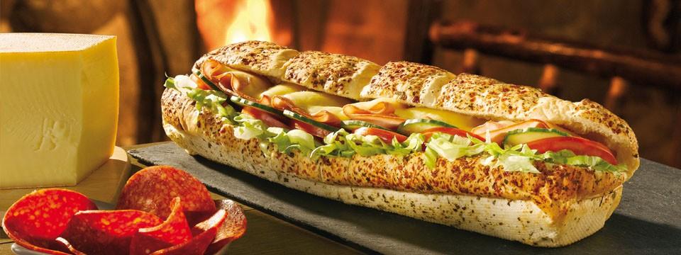 subway re lance le sandwich la raclette. Black Bedroom Furniture Sets. Home Design Ideas