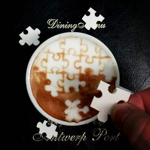 Latte Art Puzzle