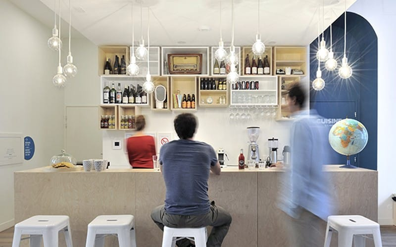 Avez-vous déjà testé le bar du Slo Living Hôtel à Lyon ?