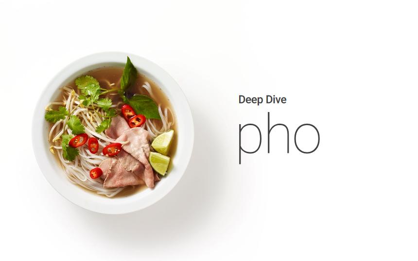Les tendances culinaires selon Google